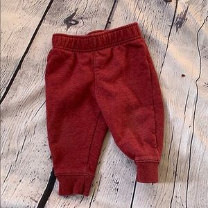 3/$25 Cat and Jack Red Joggers